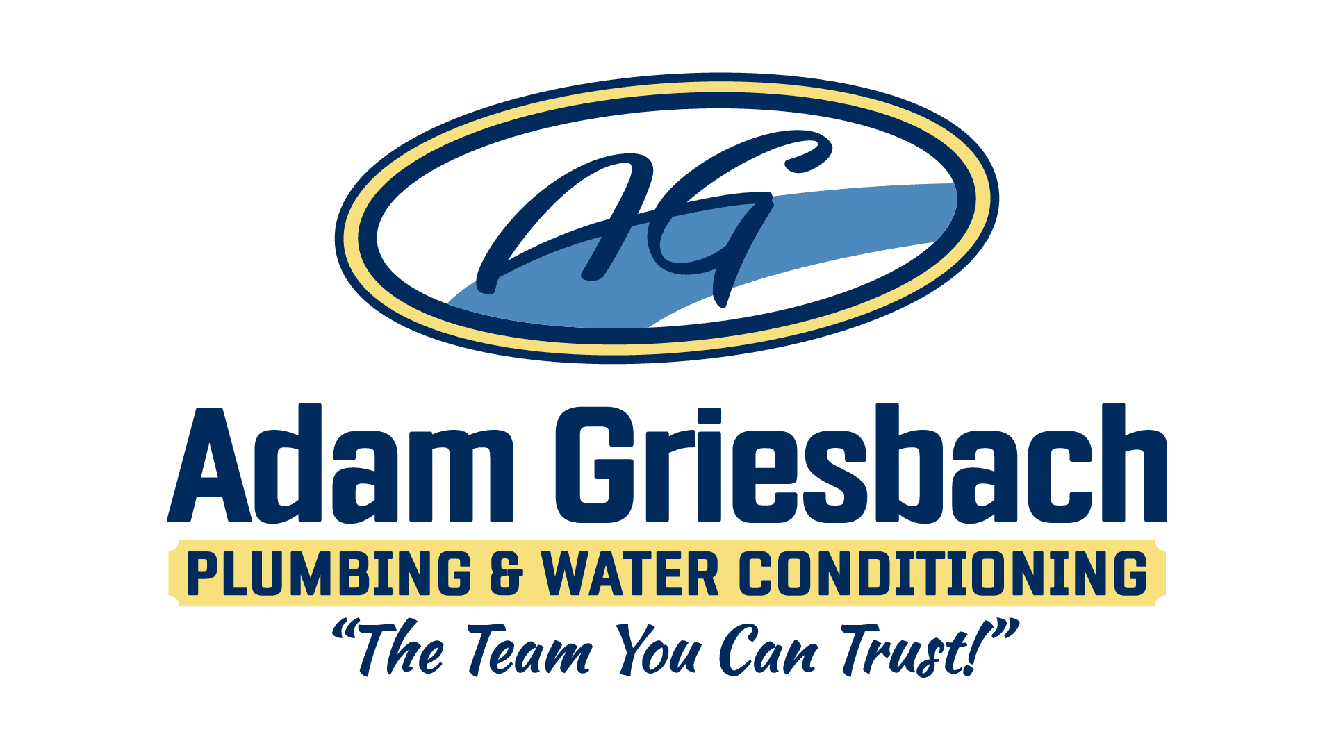 logo for Adam Griesbach Plumbing & Water Conditioning